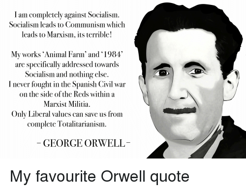 the distinction between animalism and marxism in orwell and maryx George orwell term papers (paper 2939) on animal farm: animalism vs marxism: animal farm: animalism vs marxism characters, items, and events found in george orwells book, animal farm, can be compared to similar char term paper 2939.