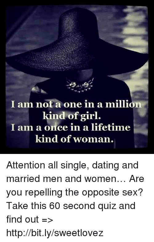 One in a million dating
