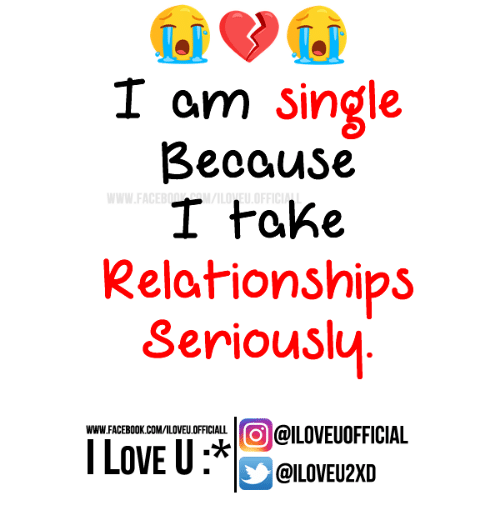I am single and i love it