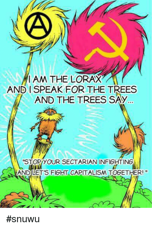 I Speak For The Trees And The Trees Say