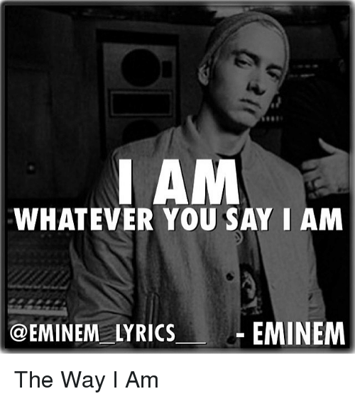 Eminem - The Way I am ( Uncensored Lyrics ) - YouTube