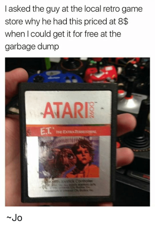 i asked the guy at the local retro game store 18937710 ✅ 25 best memes about retro games retro games memes