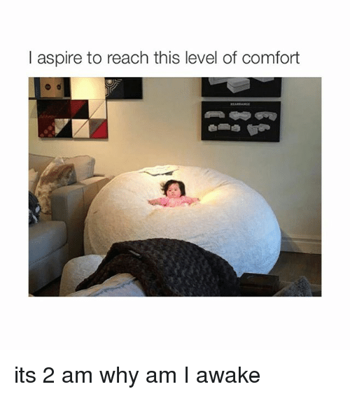 i aspire to reach this level of comfort its 2 1651144 ✅ 25 best memes about why am i awake why am i awake memes