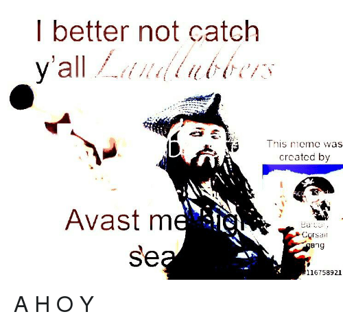 I Better Not Catch This Mmeme Was Created by Avast M Corsa Ang Se