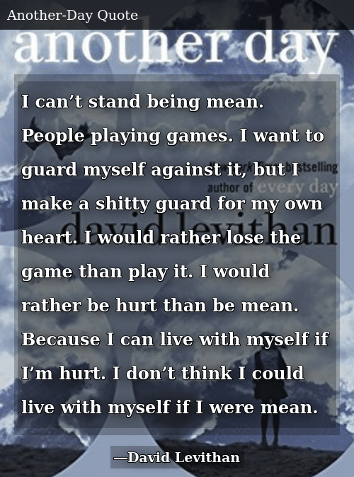 I Can\'t Stand Being Mean People Playing Games I Want to ...