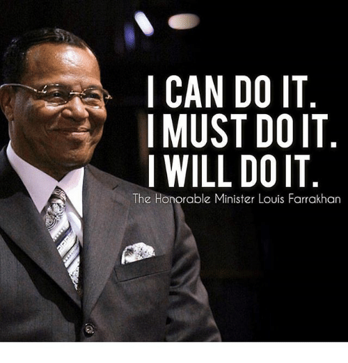 i can do it imust doit i will doit the 30954207 i can do it imust doit i will doit the honorable minister louis