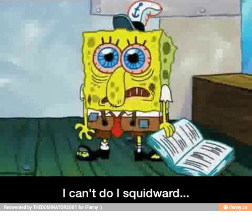 sleep spongebob meme squidward pictures wwwpicturesbosscom