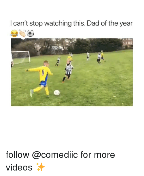 Dad, Memes, and Videos: I can't stop watching this. Dad of the year  FT  IL follow @comediic for more videos ✨