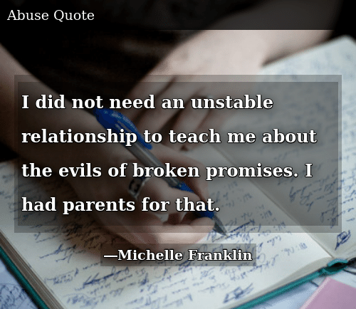 I Did Not Need an Unstable Relationship to Teach Me About ...
