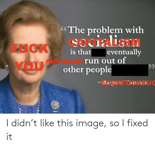 Image, This, and Like: I didn't like this image, so I fixed it
