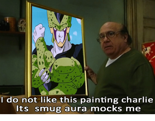 I Do Not Like This Painting Charlie Its Smug Aura Mocks Me Meme On