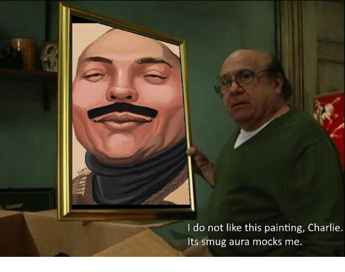I Do Not Like This Painting Charlie Its Smug Aura Mocks Me Charlie