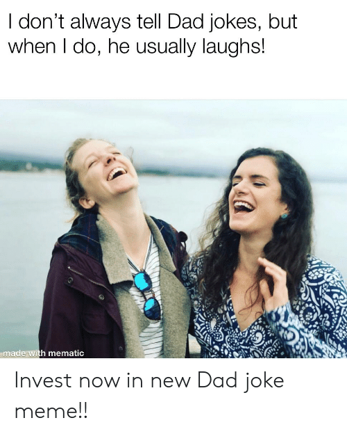 dad joke about dad jokes