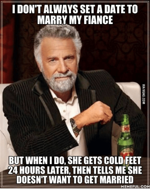 dating cold feet
