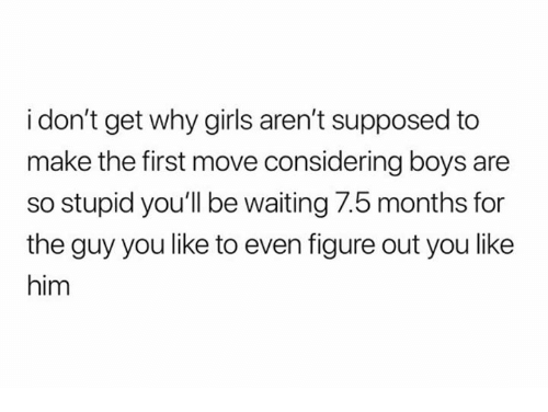 why boys are so stupid