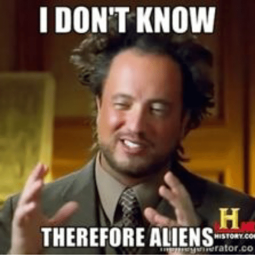 Ancient Aliens Guy Blank