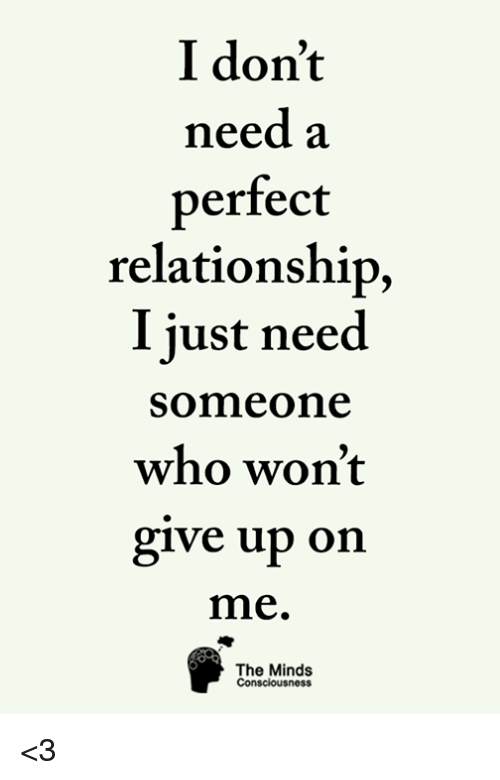 dont give up on relationship