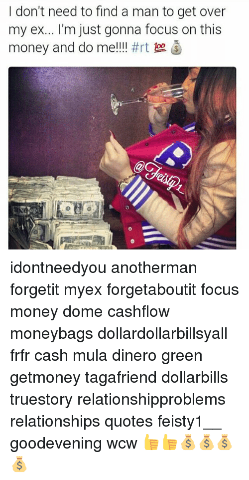 Find a man with money