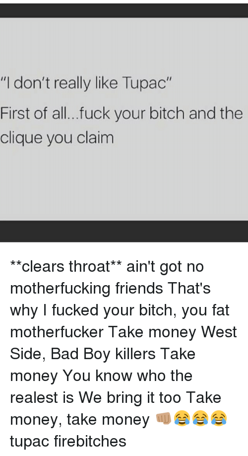 thats why i fucked your bitch