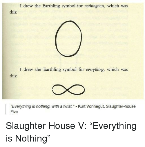 I Drew The Earthling Symbol For Nothingness Which Was This I Drew