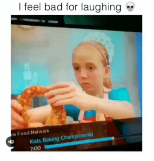 I Feel Bad For Laughing E Food Network Kids Baking Championship 700