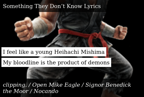 i feel like a young heihachi mishima my bloodline is the product of demons donald trump meme on me me meme