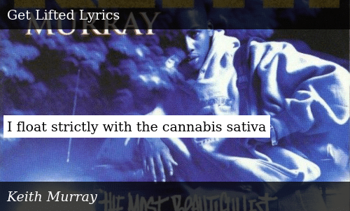 SIZZLE: I float strictly with the cannabis sativa