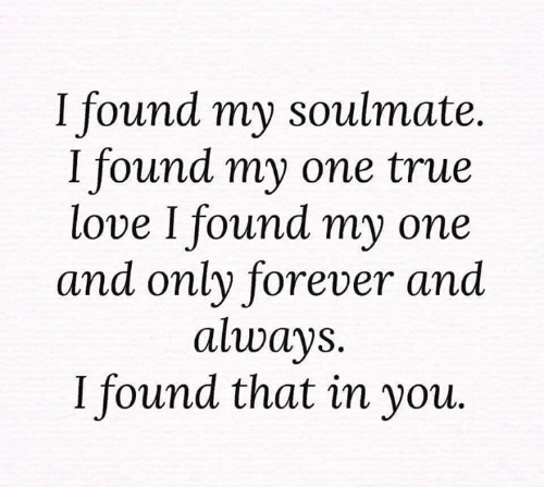 Soulmate i what now my found 9 Signs