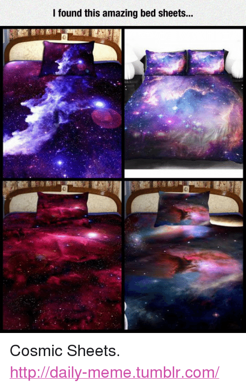 Meme, Tumblr, And Http: I Found This Amazing Bed Sheets.