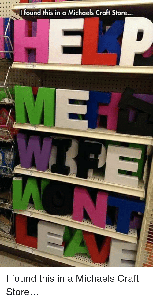 I Found This In A Michaels Craft Store I Found This In A Michaels