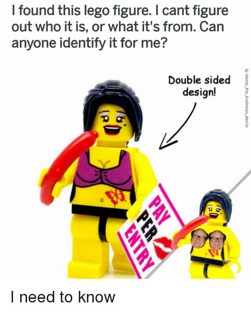 I Found This Lego Figure I Cant Figure Out Who It Is or What