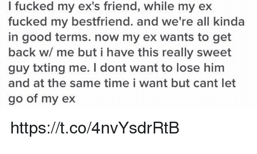 I Fucked My Ex's Friend While My Ex Fucked My Bestfriend and We're