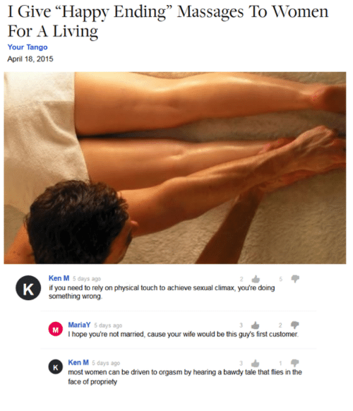 Guy Gets Happy Ending At Massage