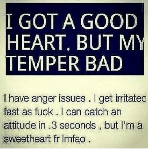 short temper and anger