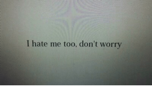 Hate Me, Me Too, and Hate: I hate me too, don't worry
