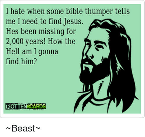 Bible Thumpers