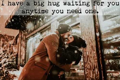 Waiting..., Big, and One: I have a big hug waiting for you  anytime you need one.