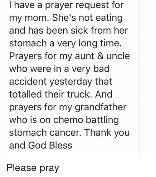 prayer for my uncle