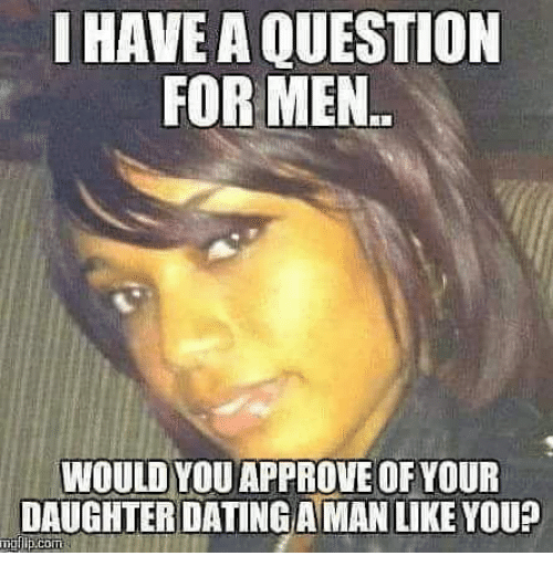 Online dating guy meme with question