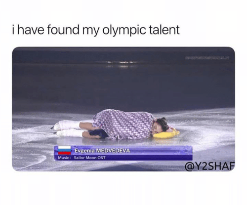 Music, Sailor Moon, and Moon: i have found my olympic talent  Evgenia MEDVEDEVA  Sailor Moon OST  Music:  @Y2SHAF
