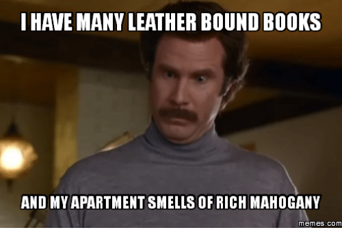 Leather Bound Books Anchorman