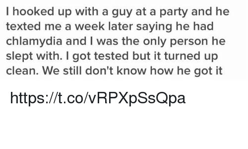 how to get a hook up with a guy at a party