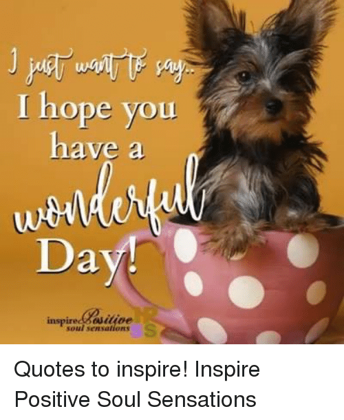 I Hope You Have A Day Inspired Buitioe Quotes To Inspire Inspire