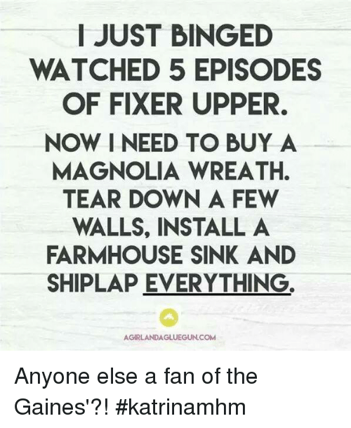 Image result for fixer upper memes
