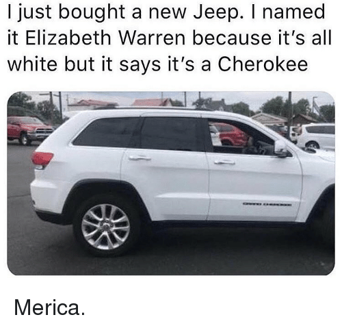 I bought a jeep me too