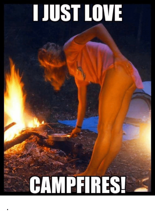 i just love camp fires meme on me me