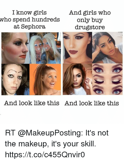 I Know Girls Who Spend Hundreds at Sephora and Girls Who Only Buy