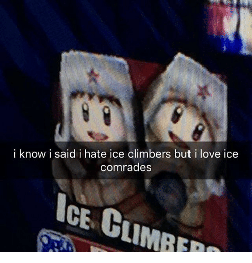 Image result for ice climbers thinking emoji