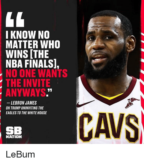 8ed2d590ff1f I KNOW NO MATTER WHO WINS THE NBA FINALS NO ONE WANTS THE INVITE ...