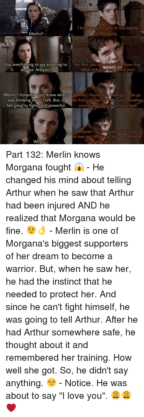I Know You Fought in the Battle Morgana Merlin?! You Aren't
